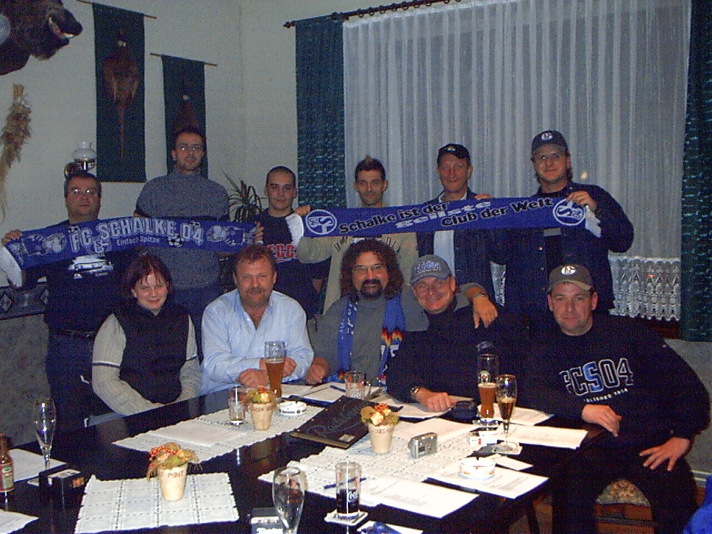 1. Treffen am 7.11. 2003 im Gasthof Krone in Beucha