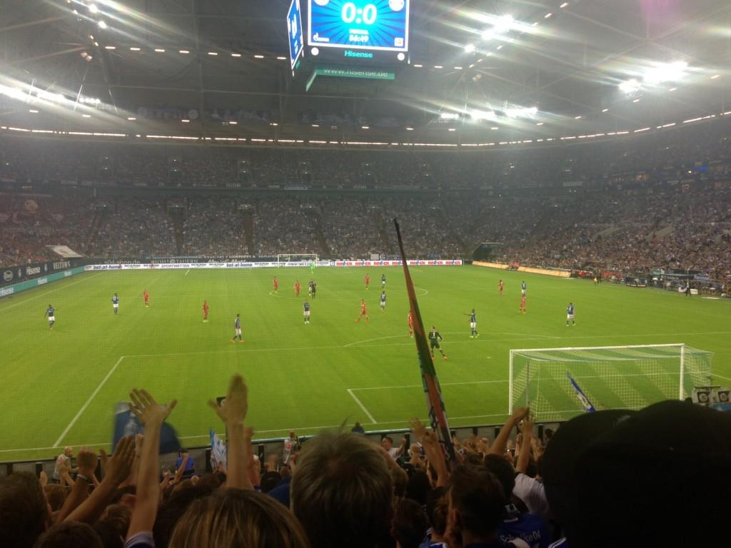Schalke - Bayern Heimpremiere Saison 2016 / 2017